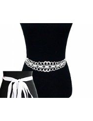 KIRKS FOLLY Petite Princess Bride Crystal Belt