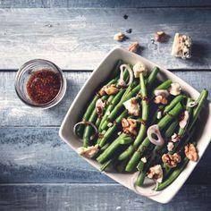 Haricot verts walnut salad, the tasty fresh French way to enjoy your veggies.