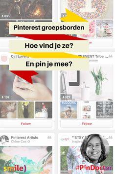 Pinterest groepsborden, hoe vind je ze en pin je mee? Blog door @suuswartenbergh