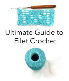 Ultimate Guide to Filet Crochet + Holiday Project Ideas   Red Heart