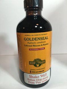 Herb-Pharm-Goldenseal-Alcohol-Free-8-oz-GLGSEAL08-Clearance-Exp-4-18-IHI