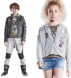 Khaki and more military details show up for spring 2016 at Diesel Kid