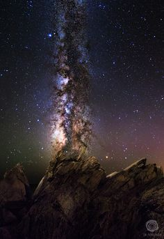Milky way Lurking by Jared Blash on 500px