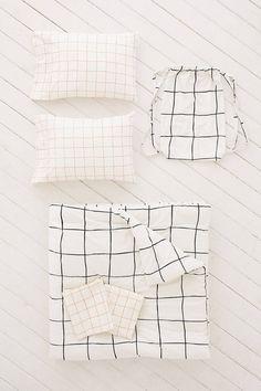Slide View: 1: Wonky Grid Comforter Snooze Set