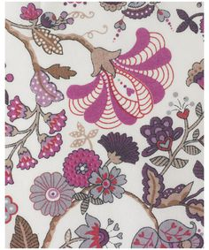 I love Liberty (and once spent some 6 hours pawing through the discount bins in their fabric department, because that's the kind of thing I do on vacation), and I love the idea of these prints for light curtains OR for dresses!