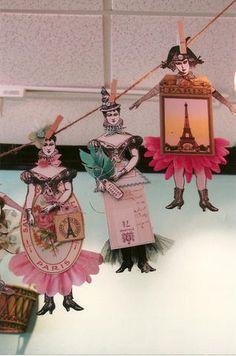 Jackie Peters Paper Dolls, see her Blog, Good Grief Gertie.
