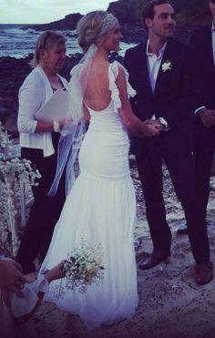 www.graceloveslace.com.au #Bohemian #Boho #Bohobride #weddingdress #bohoweddingdress #beachbride #countrywedding #vintagewedding
