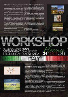 Manifesto (Italy) 70x100 cm realizzato per FARMAREMMA in occasione del workshop internazionale a Firenze - C&P ADVER