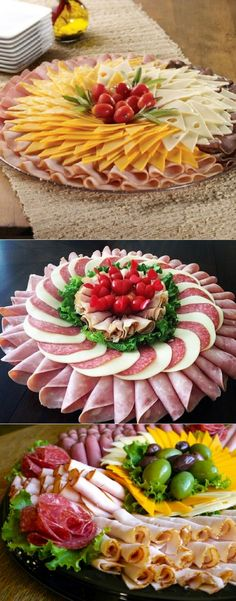 66 Trendy Ideas For Meat Appetizers Parties Appetizer Recipes Meat Appetizers, Appetizers For Party, Appetizer Recipes, Party Food Platters, Food Trays, Meat Trays, Meat Cheese Platters, Cheese Food, Meat Platter
