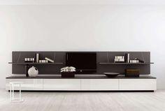 B&B Italia – купить мебель итальянской фабрики B&B Italia из Италии по низким ценам в PALISSANDRE.ru Furniture Stores Nyc, Furniture Ads, Space Furniture, Cool Furniture, Furniture Design, Tv Storage Unit, Wall Storage Systems, Contemporary Shelving, Contemporary Design