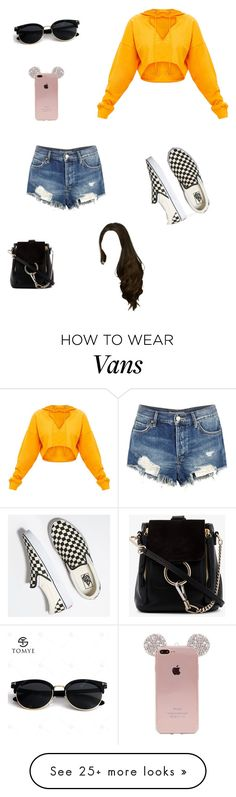 """Untitled #457"" by gabbycox-27 on Polyvore featuring Free People, Vans and Chloé"