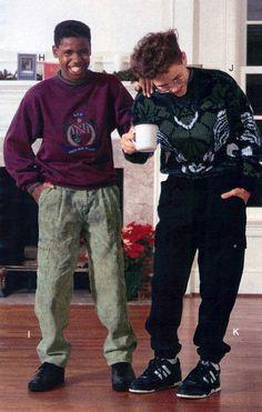 Teen Boys Fashion from a 1990 catalog #1990s #fashion #vintage