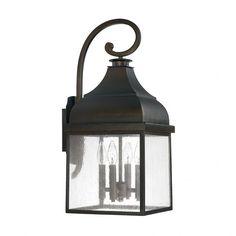 4 Light Outdoor Wall Lantern