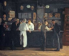 McSorley's Bar : John Sloan : c1912 : Fine Art Giclee Archival Reprint Company