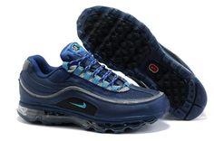 separation shoes 939b5 946f4 397252-400 Nike Air Max 24 7 Midnight Navy Blue Lacquer AMFM0553 Nike Air  Max