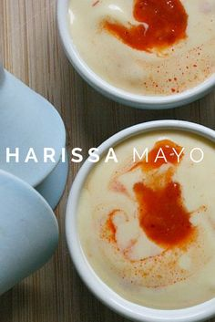 Making your own mayonaise is easy, and you can create something truly unique when you add-in flavor. Try this harissa mayo to add a North African kick to your burgers.