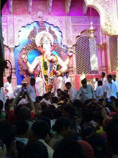 Lalbagh ka Raja-- Ganapati Bappa Moriya...!!