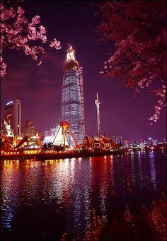 Lotte World Tower,Seoul,Korea