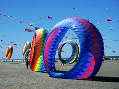 Long Beach, WA is well known for its Annual Washington State International Kite Festival