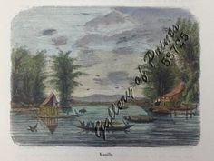 jo#58725c Delessert 1848 Philippines, Manila, Pasig River