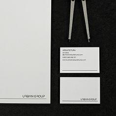 Urban Arquitetura - Business Cards and Letterhead.