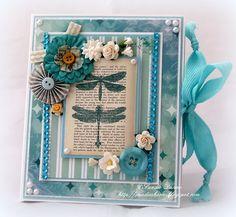 Cardz 'n' Scrapz: Enchanted Garden Book Box Card