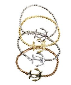 Anchors Away Bracelet from P.S. I Love You More. Shop online at: psiloveyou​more.store​nvy.com $9.99
