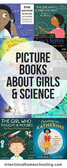 The best picture books about girls and science - a great list of picture book biographies of women scientists and more! girl The Best Picture Books About Girls and Science Science Fair Projects, Science Experiments Kids, Science Activities, Activities For Kids, Preschool Science, Science Resources, Science Ideas, Science Lessons, Teaching Science