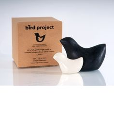 Birdproject Soap- Made from biodiesel glycerin, Fair Trade olive oil, aloe, and other local ingredients. A portion of proceeds goes to the ongoing environmental cleanup from the 2010 BP Oil Spill. Available at Design With Benefits. $24