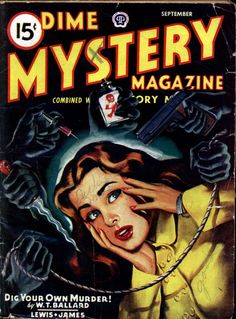 Comic Book Cover For Dime Mystery v33 04