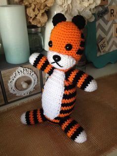 Crocheted Hobbes by NannysKnots on Etsy