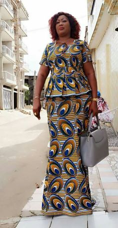 latest ankara skirt and blouse styles 25 Top selected most stylish ankara skirt and blouse for the month of june Latest African Fashion Dresses, African Print Dresses, African Print Fashion, Africa Fashion, African Dress, African Attire, African Wear, African Women, Ankara Skirt And Blouse