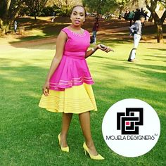 Sepedi Traditional Dresses, South African Weddings, African Fashion Dresses, African Beauty, Designer Dresses, My Style, Modern, Traditional Dresses, African Style
