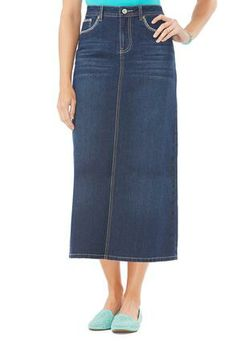 26422ad85ad26 Cato Fashions Flap Pocket Denim Skirt Plus Size Jeans