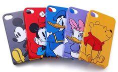 Disney Character 3D Relief iPhone 4 Case