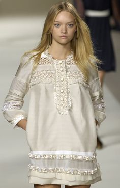 #Australian #model #GemmaWard in Chloé for S/S 2007