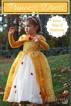 Free Princess Dress Pattern & Tutorial - Sew a Little Seam