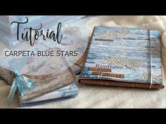 Tutorial Carpeta Blue Stars 2/2 - YouTube
