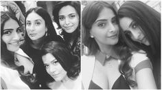Veerey Di Wedding Kareena Kapoor Khan Sonam Kapoor Swara Bhaskar are bonding like little girls on the sets - The Indian Express #757Live