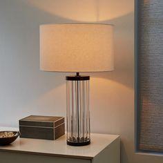 Acrylic Rod Table Lamp - Round