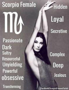 #ScorpioWoman #Zodiac #Astrology For more Scorpio related posts, please follow…