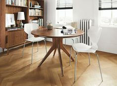 Bradshaw dining table #danishdesign #danishfurniture #scandinaviandesign