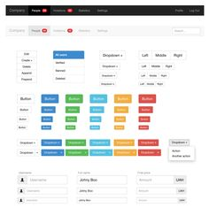 Bootstrap 3 Vector UI Kit, #AI, #Bootstrap, #Buttons, #Dashboard, #Dropdown, #Flat, #Form, #Free, #Glyphs, #Icon, #Menu, #Navigation, #Notification, #Pagination, #PDF, #Progress, #Resource, #Search_Field, #Tab, #Table, #UI, #Vector