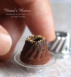 miniature food: cake by Nunu's House