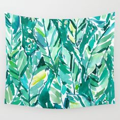 BANANA LEAF JUNGLE Wall Tapestry