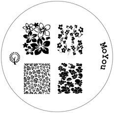 Image plate 124 - MoYou Nails - Nail Stamping Plates, Nail art kits, Nail Polish and Decorations Nail Plate, Nail Stamping Plates, Image Plate, Nail Art Kit, Wild Hair, Mani Pedi, Neutral Colors, Colours, Design Crafts