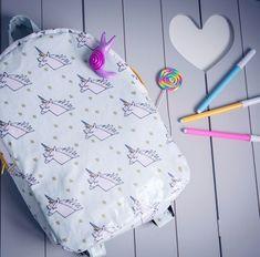 Patron couture sac à dos enfant.