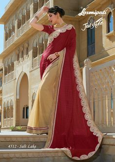Laxmipati is a leading brand of India for Sarees. We deliver ecofriendly Designer Printed Sarees, Party wear, Office wear, Chiffon, Georgette Sarees. Laxmipati Sarees, Lehenga Saree, Fancy Sarees, Party Wear Sarees, Saree Shopping, Daily Wear, Happy Valentines Day, Special Occasion, Branding Design