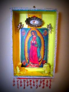 Nicho  Shrine to Our Lady of Guadalupe by AusomeAtelier on Etsy, $40.00