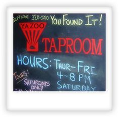 The Yazoo Tap Room Raven's favorite spot to work (and drink) from